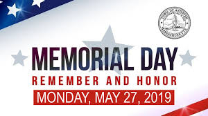 Our Office will be Closed Memorial Day